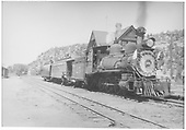 RGS 4-6-0 #25 with Barriger Special.<br /> RGS  Dolores, CO  7/3/1938