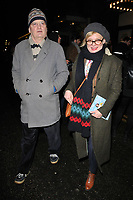 guest and Martha Plimpton at the &quot;Home, I'm Darling&quot; press night, Duke of York's Theatre, St Martin's Lane, London, England, UK, on Tuesday 05th February 2019.<br /> CAP/CAN<br /> &copy;CAN/Capital Pictures
