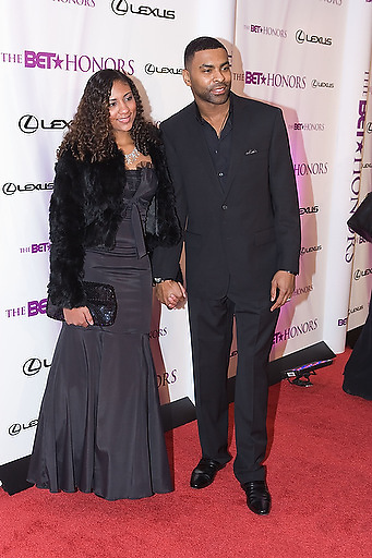 Slug: 2011 BET Honors.Date: 01-16-2011.Photographer: Mark Finkenstaedt.Location:  Wagner Theater, Washington DC.Caption:  2010 BET Honors - Wagner Theater Washington DC.Ginuwine with Daughter Cypress