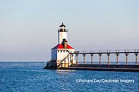 64795-02912 Michigan City Lighthouse & Pier Michigan City, MI