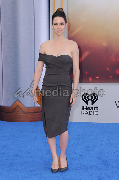"25 May 2017 - Hollywood, California - Alona Tal. World  Premiere of Warner Bros. Pictures'  ""Wonder Woman"" held at The Pantages Theater in Hollywood. Photo Credit: Birdie Thompson/AdMedia"