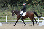Class 5. Elementary 45. British Dressage. Brook Farm training centre. Essex. 29/09/2017. MANDATORY Credit Garry Bowden/Sportinpictures - NO UNAUTHORISED USE - 07837 394578