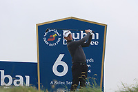 Justin Harding (RSA) on the 6th tee during Round 2 of the Irish Open at LaHinch Golf Club, LaHinch, Co. Clare on Friday 5th July 2019.<br /> Picture:  Thos Caffrey / Golffile<br /> <br /> All photos usage must carry mandatory copyright credit (© Golffile | Thos Caffrey)