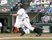 June 22, 2004:  Jason Kubel (18) of the Rochester Red Wings, Triple-A International League affiliate of the Minnesota Twins, during a game at Frontier Field in Rochester, NY.  Photo by:  Mike Janes/Four Seam Images