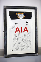 A Tottenham Hotspur top be sold at auction by Swansea City FC Community Trust. Fairwood Training Complex in Swansea, Wales, UK. Wednesday 29 March 2017