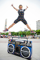 Edmonton International Street Performers Festival. Photo by Marc Chalifoux for EPIC Photography Inc.