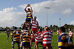 A. Van Der Heijden wins the lineout from a Patumahoe throw. Counties Manukau Premier Club Rugby, Patumahoe vs Karaka played at Patumahoe on Saturday 22nd April 2006. Karaka won 19 - 6.