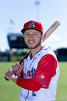 Stockton Ports infielder Nick Allen (2) poses for a photo before a game against the San Jose Giants at Banner Island Ballpark on April 9, 2019 in Stockton, California. (Zachary Lucy/Four Seam Images)