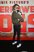 LOS ANGELES, CA - MARCH 9: Cara Delevingne, at the premiere of IMAX documentary, Superpower Dogs at the California Science Center in Los Angeles, California on March 9, 2019.   <br /> CAP/MPI/SAD<br /> &copy;SAD/MPI/Capital Pictures