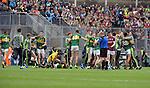 Kerry minors  celebrate on winning the All-Ireland Minor final at Croke on Sunday.<br /> Photo: Don MacMonagle