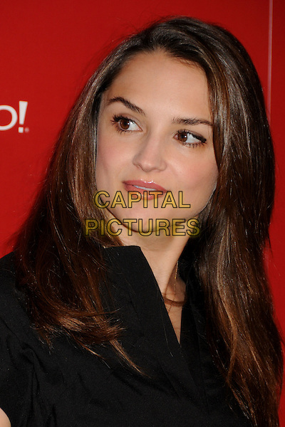 RACHAEL LEIGH COOK .US Weekly's Hot Hollywood Party 2009 held at Voyeur, West Hollywood, California, USA..November 18th, 2009.headshot portrait black rachel.CAP/ADM/BP.©Byron Purvis/AdMedia/Capital Pictures.