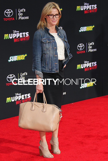 "HOLLYWOOD, LOS ANGELES, CA, USA - MARCH 11: Julie Bowen at the World Premiere Of Disney's ""Muppets Most Wanted"" held at the El Capitan Theatre on March 11, 2014 in Hollywood, Los Angeles, California, United States. (Photo by Xavier Collin/Celebrity Monitor)"