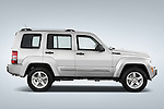 Passenger side profile view of a 2008 Jeep Liberty Limited