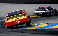 Jun. 21, 2009; Sonoma, CA, USA; NASCAR Sprint Cup Series driver Kevin Harvick during the SaveMart 350 at Infineon Raceway. Mandatory Credit: Mark J. Rebilas-