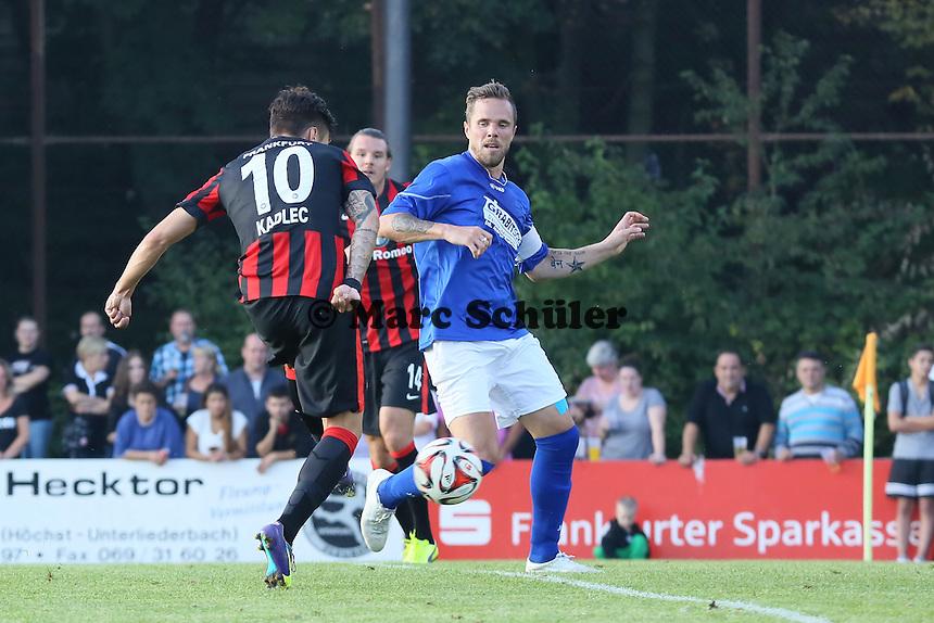 Alex Meier bereitete den Treffer von Vaclav Kadlec (Eintracht) vor - VfB Unterliederbach vs. Eintracht Frankfurt