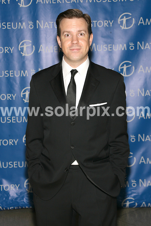 **ALL ROUND PICTURES FROM SOLARPIX.COM**.**SYNDICATION RIGHTS FOR UK, SPAIN, PORTUGAL, AUSTRALIA, S.AFRICA & DUBAI (U.A.E) ONLY**.The Museum Gala 2008 at The Museum of Natural History in Central Park West in New York City, New York in the USA. .This pic:Jason Sudeikis..JOB REF:7973-PHZ/Sylvain Gaboury   DATE:20-11-08 .**MUST CREDIT SOLARPIX.COM OR DOUBLE FEE WILL BE CHARGED* *UNDER NO CIRCUMSTANCES IS THIS IMAGE TO BE REPRODUCED FOR ANY ONLINE EDITION WITHOUT PRIOR PERMISSION*