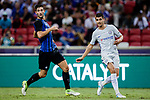 Chelsea Forward Alvaro Morata (R) in action against FC Internazionale Midfielder Roberto Gagliardini (L) during the International Champions Cup 2017 match between FC Internazionale and Chelsea FC on July 29, 2017 in Singapore. Photo by Marcio Rodrigo Machado / Power Sport Images