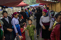 September 19, 2014 - Dong Van (Vietnam). The local market of Saphin, a few kilometers outside Dong Van. © Thomas Cristofoletti / Ruom
