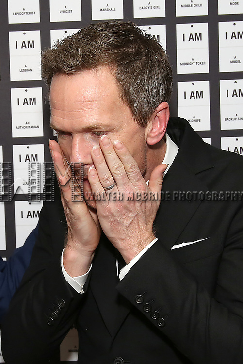 Neil Patrick Harris, hands and nails detail, attends the Opening Night after party for 'In & Of Itself' at ACE Hotel on April 12, 2017 in New York City.