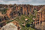 Creek in canyon in altiplano, Ciudad de Piedra, Andes, western Bolivia