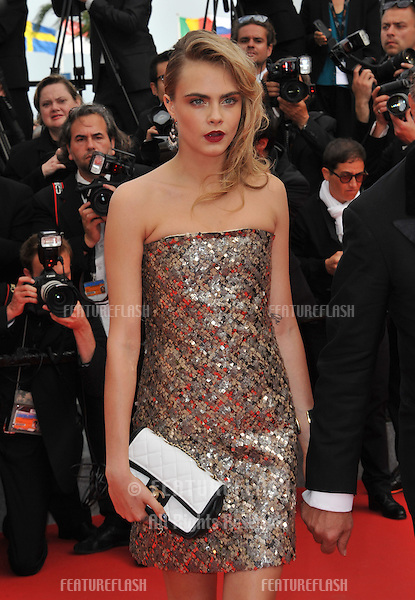Cara Delevingne at the gala premiere of &quot;The Search&quot; at the 67th Festival de Cannes.<br /> May 21, 2014  Cannes, France<br /> Picture: Paul Smith / Featureflash