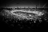 The packed iconic Kuipke Velodrome<br /> <br /> 2015 Gent 6