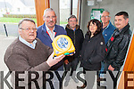 A new defibrillator has been placed at the porch in Tarbert Community Centre where it can be accessed by trained personel. Pictured were:  Dan O'Connor (Chair), John McGinley, Gabriel McNamara, Caroline Martin, Michael Lanigan and James Lavery.