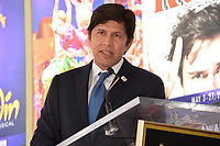 Kevin de Leon at the the Hollywood Walk of Fame star ceremony honoring French singer Charles Aznavour on Hollywood Boulevard, USA 24 Aug. 2017<br /> Picture: Paul Smith/Featureflash/SilverHub 0208 004 5359 sales@silverhubmedia.com