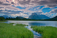 Vermillion Lakes and Mt. Rundle<br />