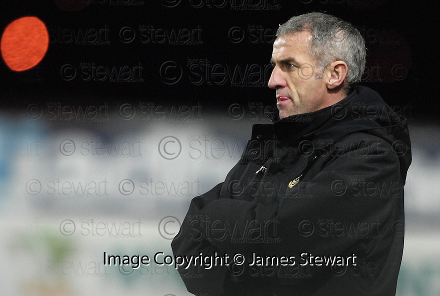 26/12/2007      Copyright Pic: James Stewart.File Name : sct_jspa11_falkirk_v_ict.CRAIG BREWSTER WATCHES HIS SIDE GO 1-0 DOWN TO FALKIRK.James Stewart Photo Agency 19 Carronlea Drive, Falkirk. FK2 8DN      Vat Reg No. 607 6932 25.Office     : +44 (0)1324 570906     .Mobile   : +44 (0)7721 416997.Fax         : +44 (0)1324 570906.E-mail  :  jim@jspa.co.uk.If you require further information then contact Jim Stewart on any of the numbers above.........