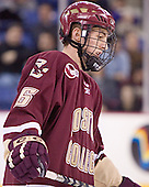 Tim Kunes - The Boston College Eagles defeated the University of Massachusetts-Lowell River Hawks 4-3 in overtime on Saturday, January 28, 2006, at the Paul E. Tsongas Arena in Lowell, Massachusetts.