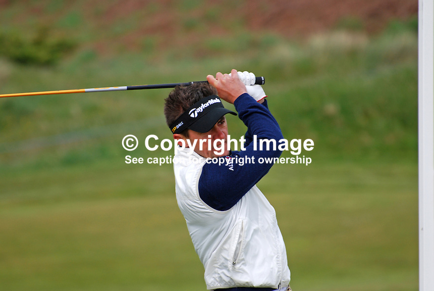 Jean-Francois Lucquin, aka Jeff Lucquin, professional golfer, France, 200905122165..Taken at the Irish Open practice day, Tuesday, 12th May, 2009, at Baltray...Copyright Image from Victor Patterson, 54 Dorchester Park, Belfast, UK, BT9 6RJ..Tel: +44 28 9066 1296.Mob: +44 7802 353836.Voicemail +44 20 8816 7153.Skype: victorpattersonbelfast.Email: victorpatterson@mac.com.Email: victorpatterson@ireland.com (back-up)..IMPORTANT: If you wish to use this image or any other of my images please go to www.victorpatterson.com and click on the Terms & Conditions. Then contact me by email or phone with the reference number(s) of the image(s) concerned.
