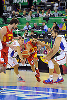 Spain's  NAVARRO, Juan Carlos during 2014 FIBA Basketball World Cup Group Phase-Group A, match Serbia vs Spain. Palacio  Deportes of Granada. September 4,2014. (ALTERPHOTOS/Raul Perez)