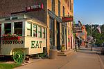 Lanesboro, MN main street shops