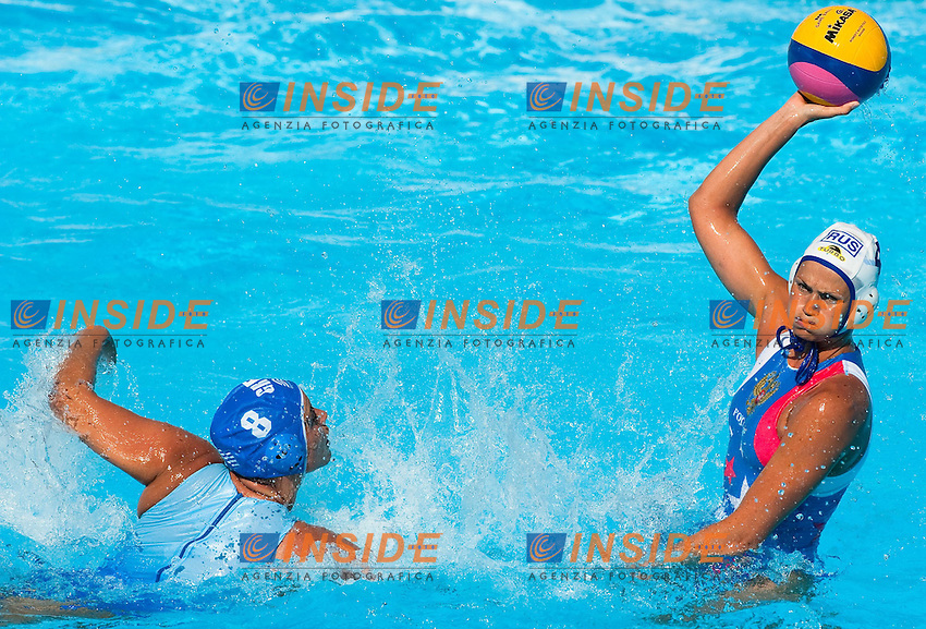 Roma 21th July 2009 - 13th Fina World Championships From 17th to 2nd August 2009..Water Polo Women..Bronze Medal Match....RUS 10 - 9 GRE....photo: Roma2009.com/InsideFoto/SeaSee.com