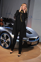 NEW YORK, NY - NOVEMBER 12: Uma Thurman unveils the BMW i8 Concept Roadster at 1095 Avenue Of The Americas on November 12, 2012 in New York City. Credit: mpi01/MediaPunch Inc. /NortePhoto/nortephoto@gmail.com