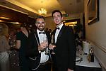 The Parc Hotel 130 years anniversary dinner.<br /> David Westcott &amp; Dan Fulham.<br /> 23.10.14<br /> &copy;Steve Pope-FOTOWALES