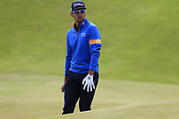 Rafael Cabrera-Bello (ESP) at the 14th green during Thursday's Round 1 of the 2018 Dubai Duty Free Irish Open, held at Ballyliffin Golf Club, Ireland. 5th July 2018.<br /> Picture: Eoin Clarke | Golffile<br /> <br /> <br /> All photos usage must carry mandatory copyright credit (&copy; Golffile | Eoin Clarke)