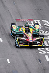 Daniel Abt of ABT Schaeffler Audi Sport during the first stop of the FIA Formula E Championship HKT Hong Kong ePrix at the Central Harbourfront Circuit on 9 October 2016, in Hong Kong, China. Photo by Marcio Rodrigo Machado / Power Sport Images