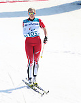 Pyeongchang, Korea, 14/3/2018-Emily Young  competes in the cross country sprints during the 2018 Paralympic Games in PyeongChang. Photo Scott Grant/Canadian Paralympic Committee.