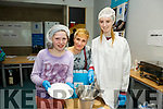 At the IT Tralee Kerry Science Festival on Saturday were Molly Scales and Caitriona Scales with Jade Falvey student , pharmaceutical science