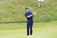 Grant Forrest (SCO) chips onto the 16th green during Sunday's Final Round of the Dubai Duty Free Irish Open 2019, held at Lahinch Golf Club, Lahinch, Ireland. 7th July 2019.<br /> Picture: Eoin Clarke | Golffile<br /> <br /> <br /> All photos usage must carry mandatory copyright credit (© Golffile | Eoin Clarke)