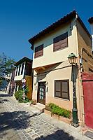 Villas of Thessaloniki old town, Greece