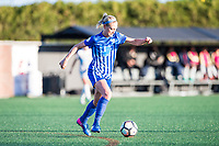 Boston, MA - Sunday May 07, 2017: Megan Oyster during a regular season National Women's Soccer League (NWSL) match between the Boston Breakers and the North Carolina Courage at Jordan Field.