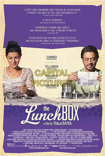 AMERICAN POSTER ART<br /> in The Lunchbox (2013) <br /> *Filmstill - Editorial Use Only*<br /> CAP/FB<br /> Image supplied by Capital Pictures