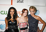 "LOS ANGELES, CA. - August 22: Jessica Lucas, Ashlee Simpson-Wentz and Katie Cassidy arrive at the ""Melrose Place"" Los Angeles Premiere Party on August 22, 2009 in Los Angeles, California."