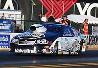 Jul. 26, 2013; Sonoma, CA, USA: NHRA pro stock driver Vincent Nobile during qualifying for the Sonoma Nationals at Sonoma Raceway. Mandatory Credit: Mark J. Rebilas-