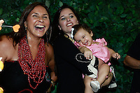 """ATENÇÃO EDITOR: FOTO EMBARGADA PARA VEÍCULOS INTERNACIONAIS. SAO PAULO, SP, 11 DE DEZEMBRO DE 2012. LANÇAMENTO DO BLOG MAMAE DE PRIMEIRA VIAGEM.As cantoras Fafa e Mariana Belem durante o  lançamento do seu novo blog """"Mamãe de primeira viagem"""" da cantora Mariana Belem, que terá dicas sobre gestação e maternidade. A página Mamãe de Primeira Viagem terá informações sobre o dia a dia da família, depoimentos de outras mães, e da própria Mariana, vídeos, entrevistas e looks especiais para as crianças. O lancamento aconteceu na tarde desta terça feira nos Jardins. FOTO ADRIANA SPACA - BRAZIL PHOTO PRESS."""