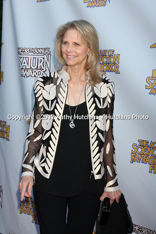 LOS ANGELES - JUL 26:  Lindsay Wagner arrives at the 2012 Saturn Awards at Castaways on July 26, 2012 in Burbank, CA