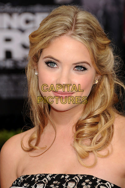 """ASHLEY BENSON.""""Prince Of Persia: The Sands Of Time"""" Los Angeles Premiere held at Grauman's Chinese Theatre, Hollywood, California, USA..May 17th, 2010.headshot portrait white black strapless lace.CAP/ADM/BP.©Byron Purvis/AdMedia/Capital Pictures."""